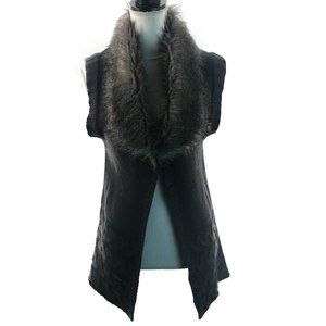 XOXO Gray Sweater Vest Size Medium